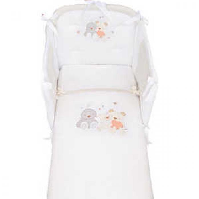 Комплект в кроватку Picci SPRING кремовый I6208-09