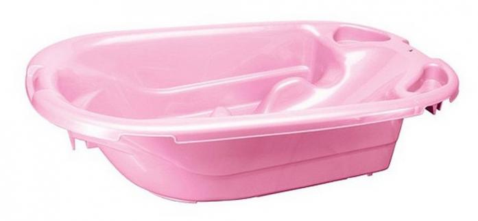 Ванна детская Бытпласт анатомическая розовая