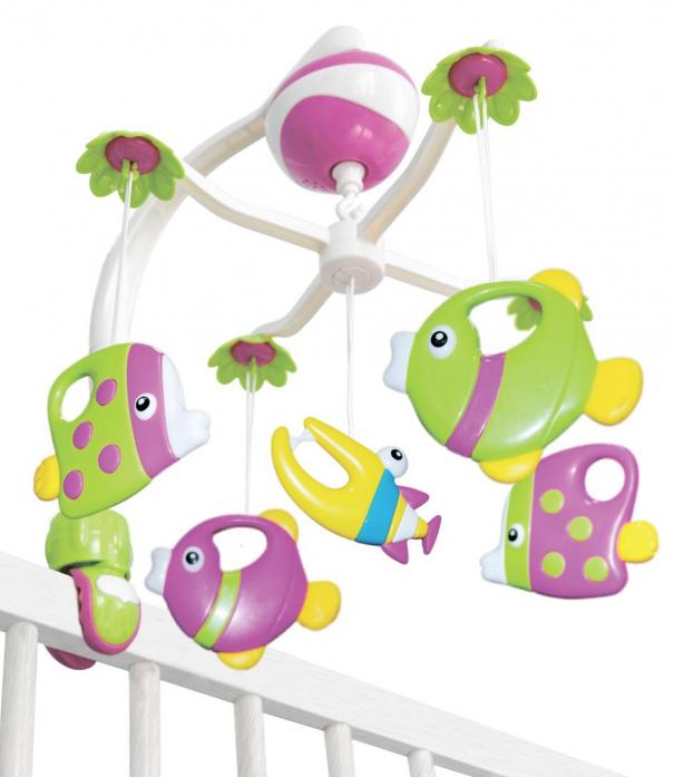 Игрушка подвесная Maman Музыкальная карусель 13015