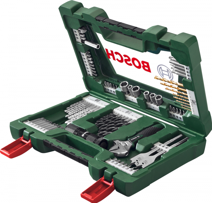 Набор принадлежностей Bosch V-line 83 предмета 2607017193