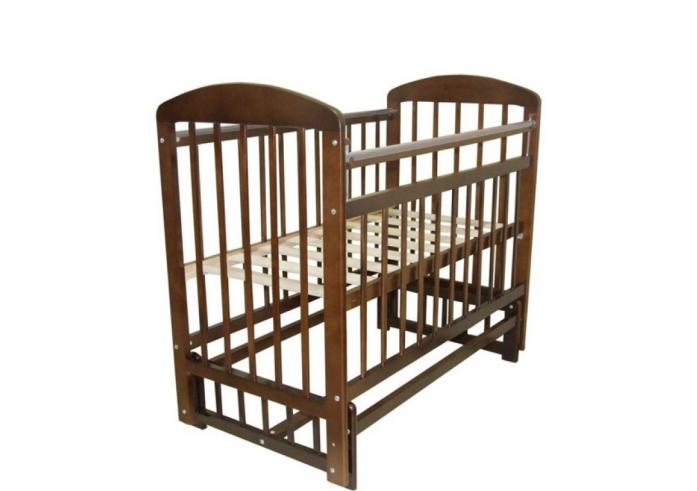 Кровать Ивашка Мой малыш 9 венге