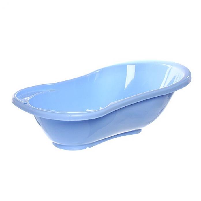 Ванночка Пластик-центр Ангел с термометром 84 см LA4102 голубой