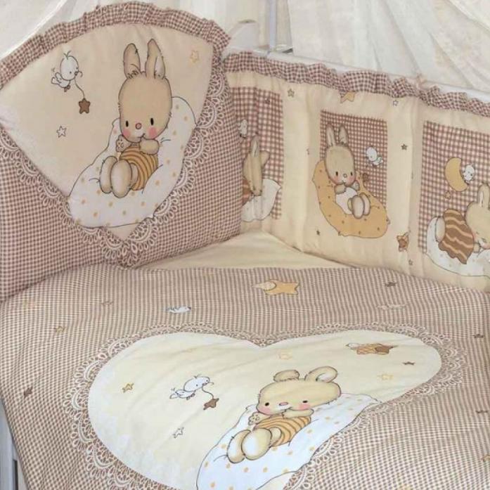 Комплект постельного белья Золотой Гусь Степашка бежевый 7 предметов 1923