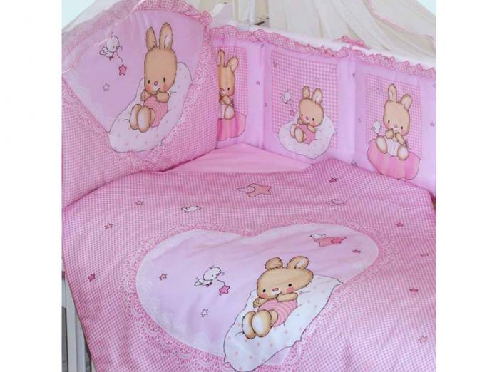 Комплект постельного белья Золотой Гусь Степашка розовый 7 предметов 1926