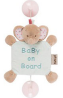 Nattou Знак Baby on board Charlotte & Rose Слоник 655354