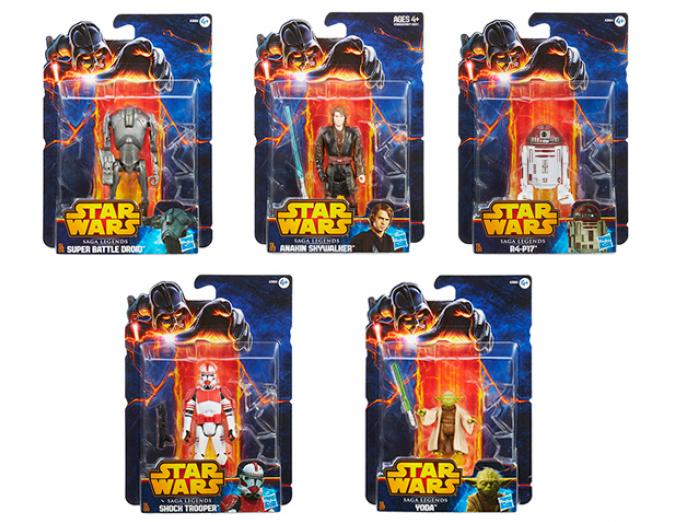 Фигурки легендарной Саги Hasbro Star Wars 3857E27A