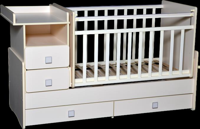 Кровать-трансформер Антел Ульяна-4 белый