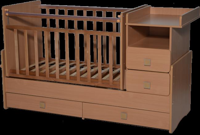 Кровать-трансформер Антел Ульяна-4 бук