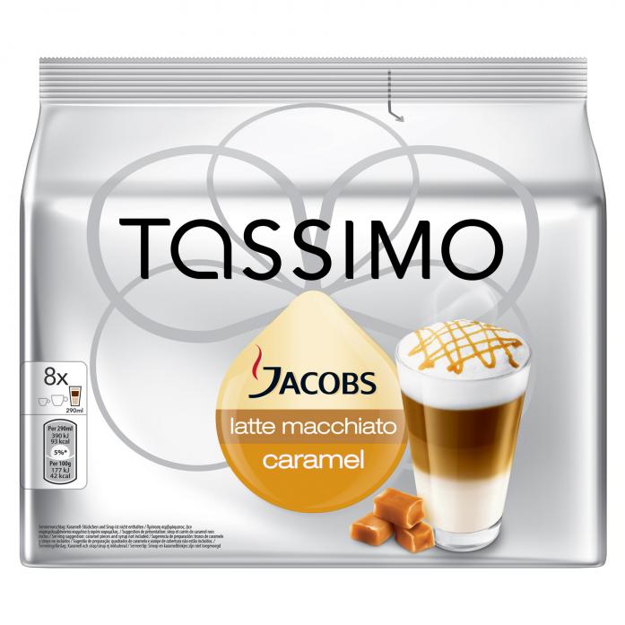 Кофе Tassimo Латте Макиато Классико