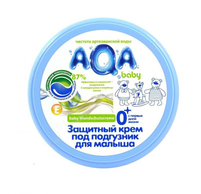 Защитный крем под подгузник для малыша AQA baby 100 мл 02012101