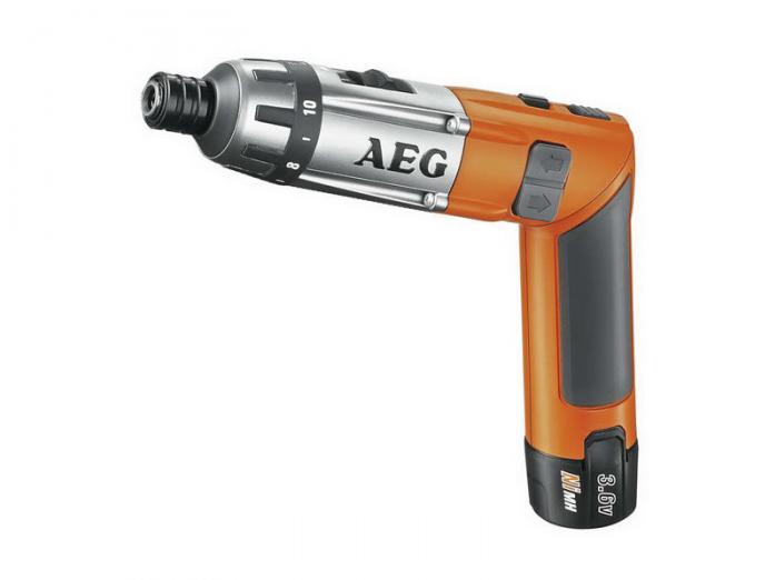 Аккумуляторная отвертка Aeg SE 3.6 Li 413165