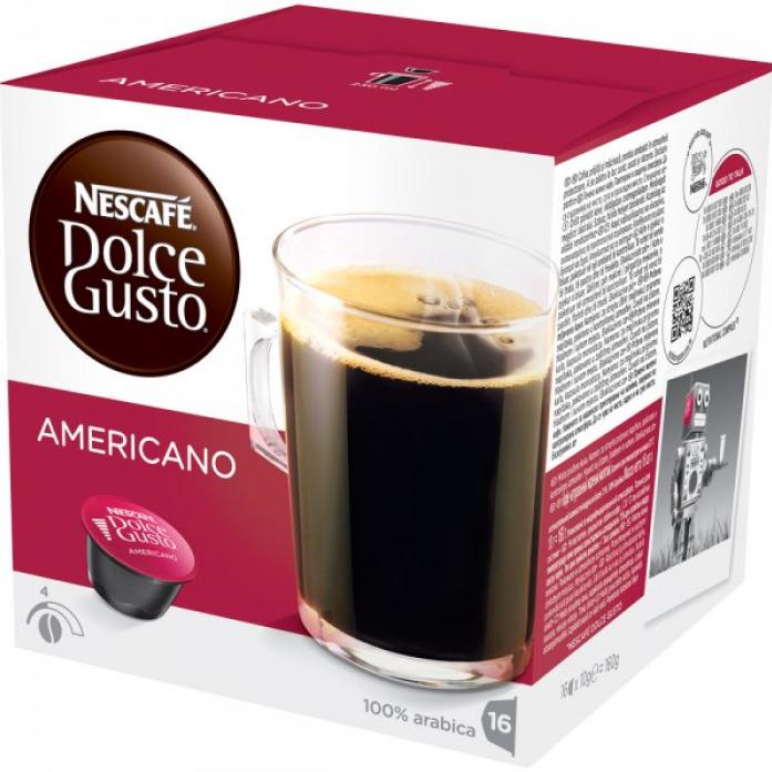 Кофе Nescafe Dolce Gusto капсулы Americano 12115461
