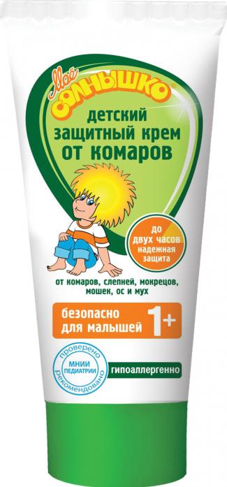Крем Мое солнышко от комаров детский защитный 1340