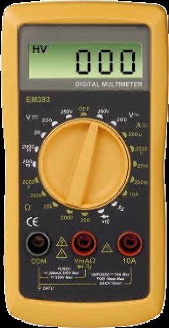 Мультиметр HAMA EM393 Digital