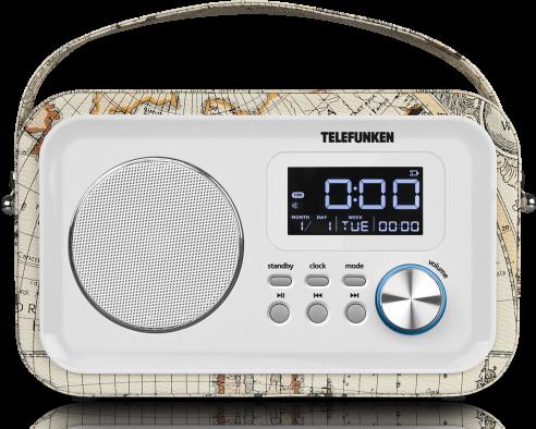 Радиоприемник Telefunken TF-1636u Белый