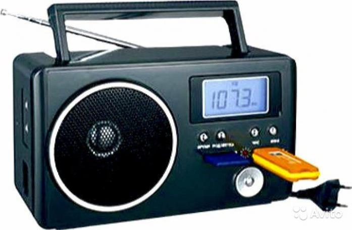 Радиоприемник СИГНАЛ БЗРП РП-204 черный