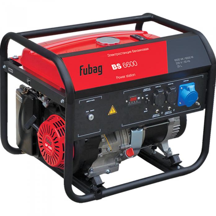 Бензиновая электростанция FUBAG BS 6600 838202