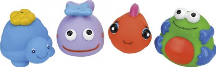 Игрушка для ванной K's Kids из 4-х игрушек KA582