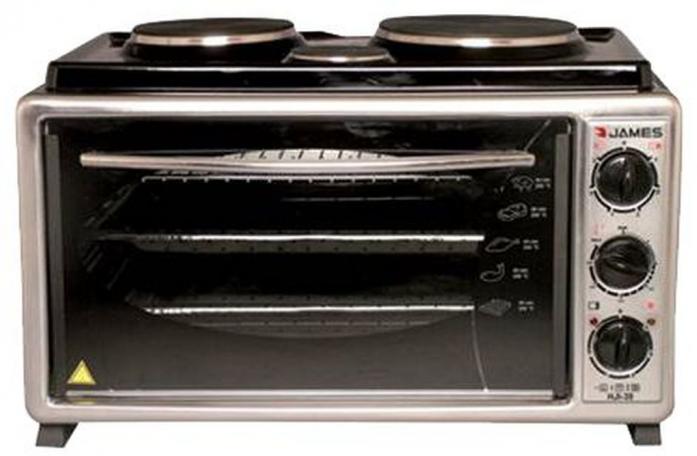 Мини-печь Luxell LX-3563 INOX