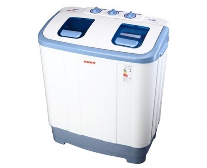 Полуавтоматическая стиральная машина AVEX XPB 65-55AW