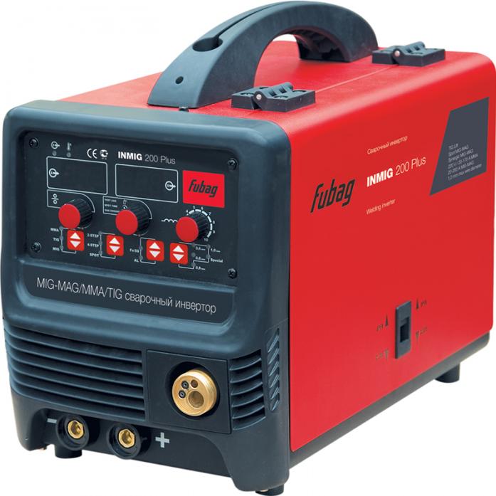 Сварочный аппарат FUBAG INMIG 200 PLUS плюс горелка FB 250 3 м F004.0376 68 044.1