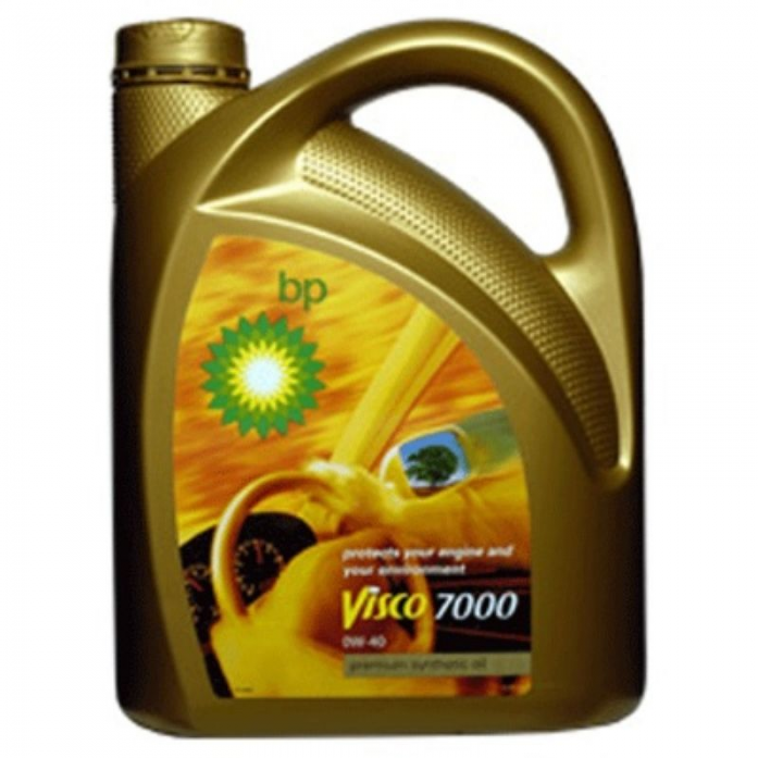 Масло моторное BP Visco 7000 0w40 (4л) Синтетика SM/CF 15805B