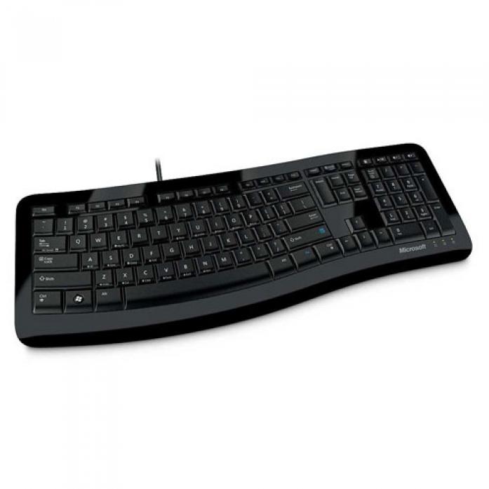 Клавиатура Microsoft Comfort Curve Keyboard 3000 Black USB (3TJ-00012)