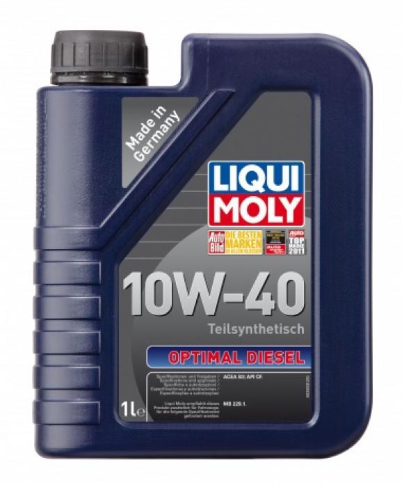 Масло моторное LIQUI MOLY Optimal Diesel 10w40 (1л) ПолуСинтетика 3933