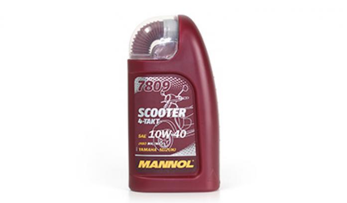 Масло для скуттеров Mannol (SCT) Scooter 4-Takt 10w40 1л синтетика 7809