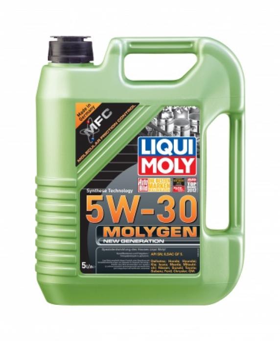 ����� �������� LIQUI MOLY Molygen New Generation 5w30 (5�) ���������