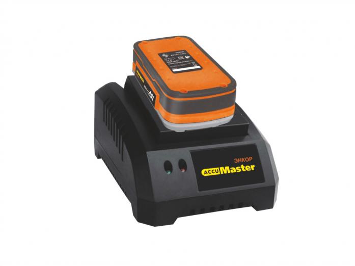 Набор аккумулятор и зарядное устройство Энкор АК1825К-1.5Li AccuMaster 49025