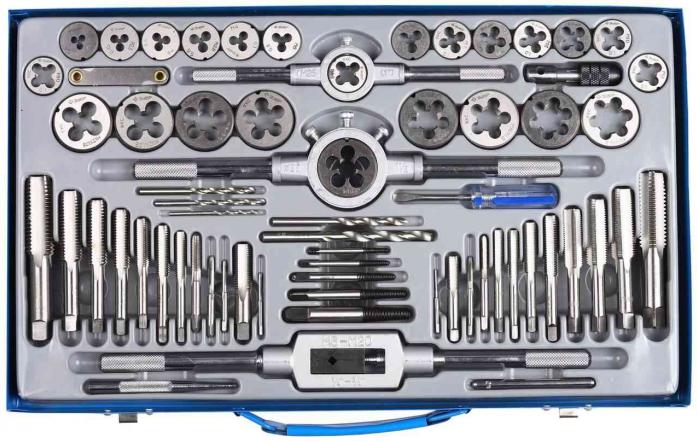 Набор с металлорежущим инструментом ЗУБР 28118-H65