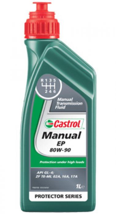 Масло трансмиссионное Castrol Manual ЕР 80w90 (1л) GL-4 15032B/154F6D