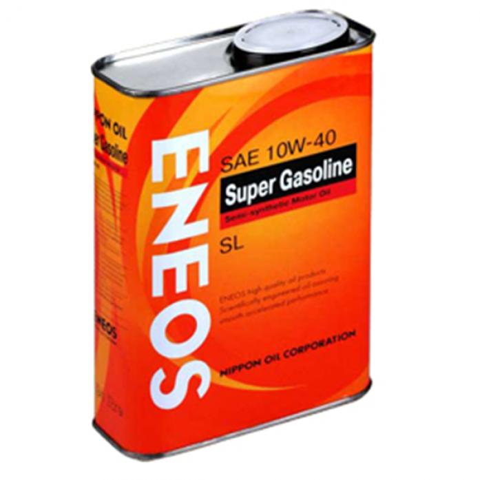 Масло моторное ENEOS Gasoline SL 10w40 ПолуСинтетика (1л)