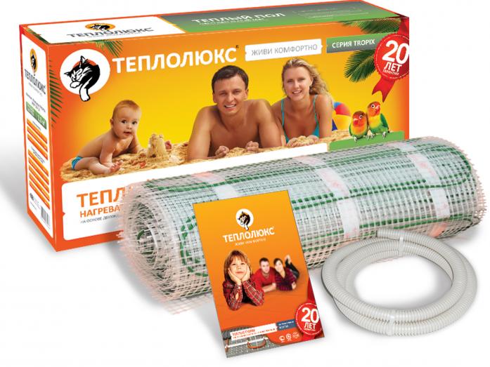 Теплый пол Теплолюкс TROPIX МНН- 480-3,00