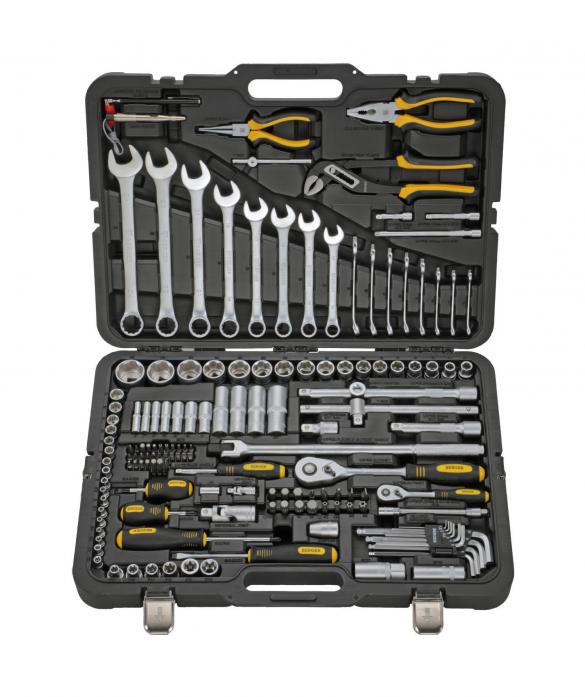 Набор инструментов 151 предмет Berger BG BG151-1214