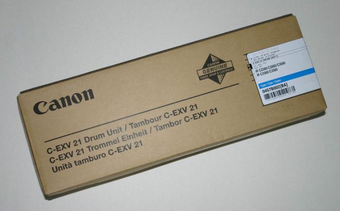 Барабан Canon C-EXV 21 Cyan 0457B002
