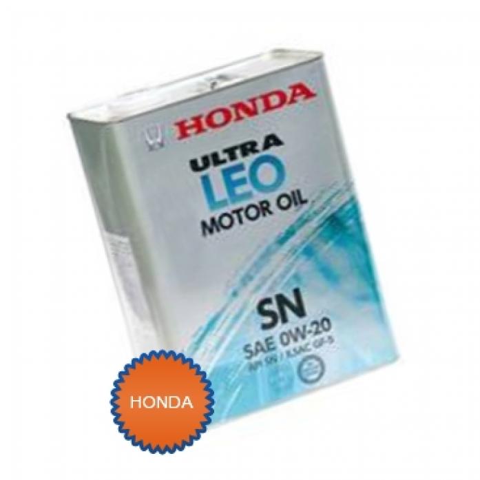 Масло моторное Honda 0w20 Ultra LEO SN 4л. (08217-99974)