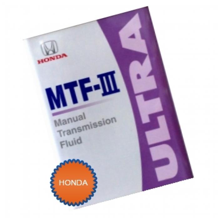 Масло трансмиссионное Honda MTF/Жидкость для МКП (0,946мл)(08798-9031)