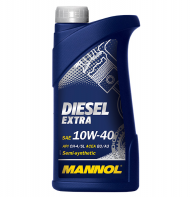 Масло моторное Mannol (SCT) diesel extra 10w40 (1л) ПолуСинтетика CH-4/SL