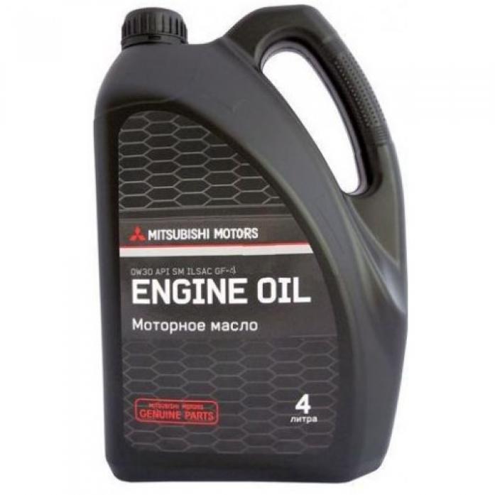 Масло моторное Mitsubishi Engine Oil 0w30 4л. MZ320754