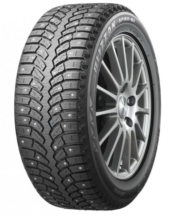 Шина зимняя Bridgestone 225/60 R17 103T Blizzak Spike-01