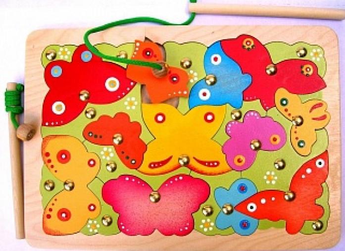 Игрушка Крона Магнитная мозаика Бабочки 143-025