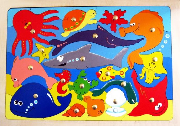 Игрушка Крона Магнитная мозаика Океан 143-062