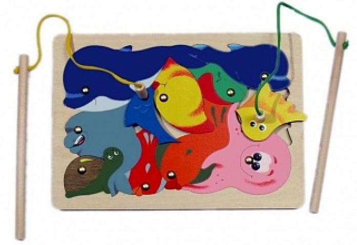 Игрушка Крона Магнитная мозаика Рыбалка 143-008