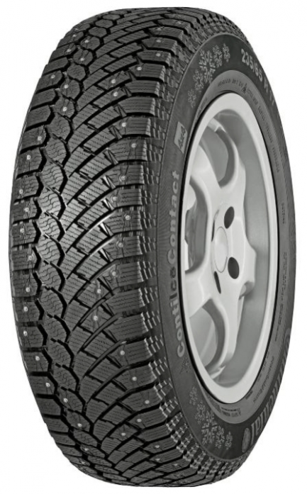 Шины Continental 235/65R17 108T XL FR ContiIceContact 4x4 HD-шип