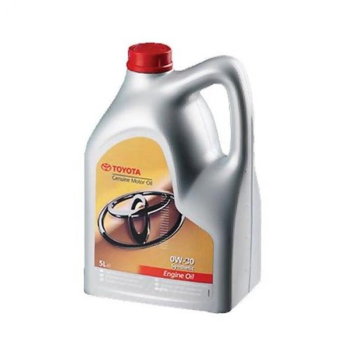 Масло моторное TOYOTA Motor Oil 0w30 SL/CF (5л)(Европа) 08880-80365 Синтетика