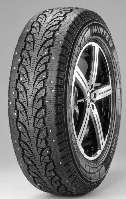 Шины Pirelli ChronoWinter 195/75R16C 107/105R шип.