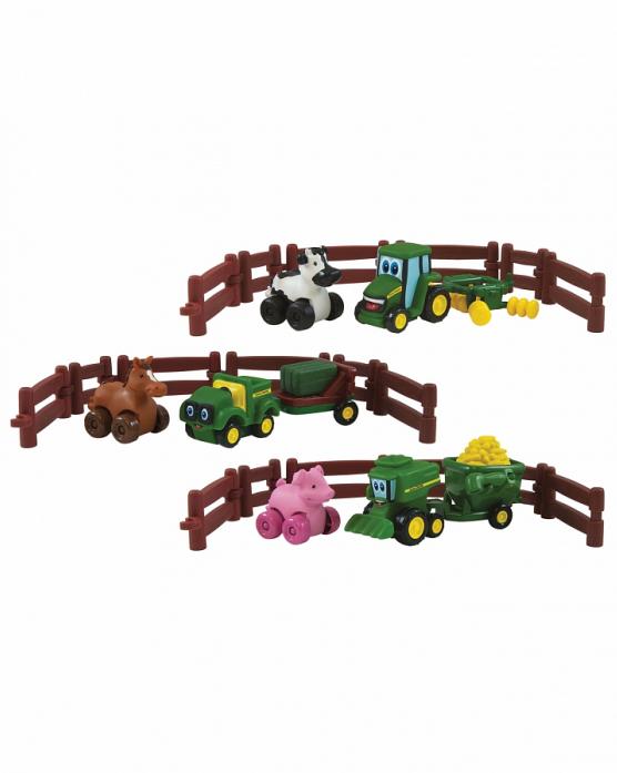 Машинка Tomy Приключения трактора Джонни и его друзей на ферме 37722RU