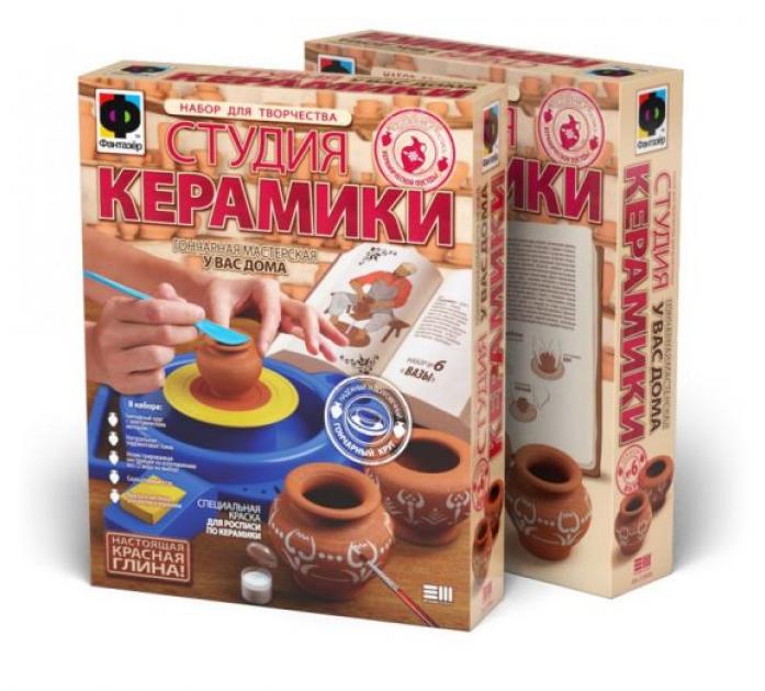 Набор Фантазер Гончар: Студия керамики Вазы 218006